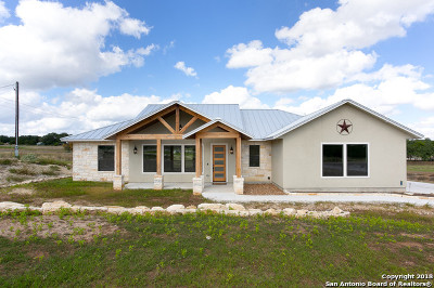 Canyon Lake Single Family Home For Sale: 103 Mystic Bluffs