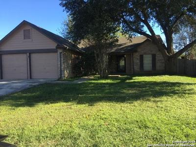 Converse Single Family Home Active Option: 10422 Shallow Crossing