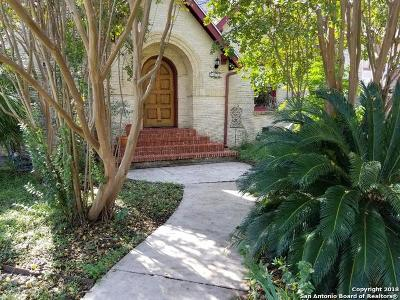 Single Family Home For Sale: 2110 W Huisache Ave