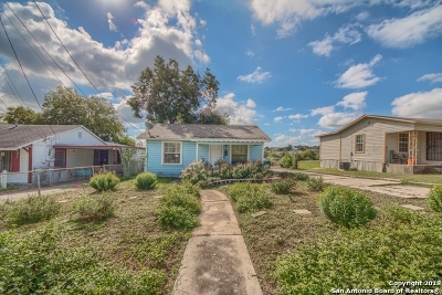 San Antonio Single Family Home For Sale: 2306 E Crockett St