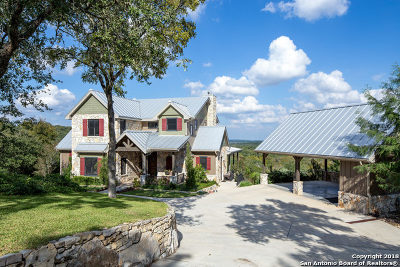 Wimberley Single Family Home Active Option: 1528 Backbone Ridge