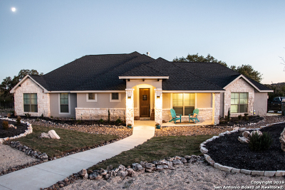 Comal County Single Family Home New: 338 Lantana Crossing