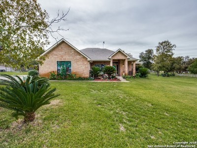 La Vernia, Marion, Adkins, Floresville, Stockdale Single Family Home For Sale: 164 Oak Fields Dr
