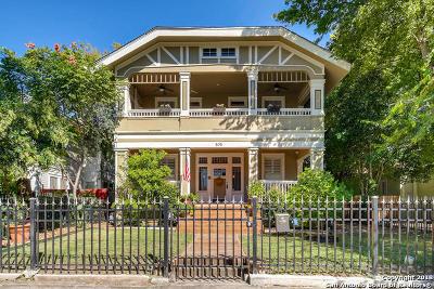 Tobin Hill Single Family Home For Sale: 505 E Evergreen St