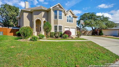 Comal County Single Family Home New: 19 Oak Mist