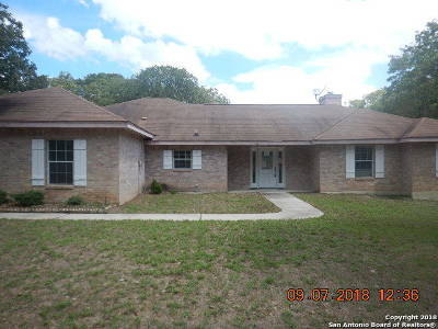 La Vernia, Marion, Adkins, Floresville, Stockdale Single Family Home For Sale: 154 Oak Holw