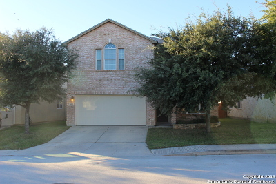 Helotes Single Family Home Price Change: 10543 Weser Ln