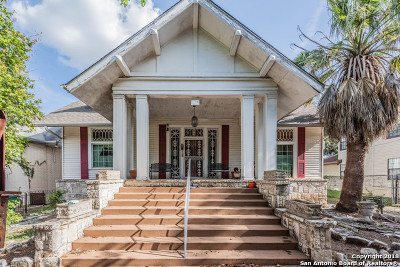 San Antonio Single Family Home For Sale: 208 E Park Ave