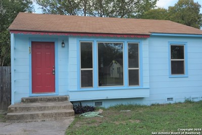 Schertz Single Family Home For Sale: 603 Wright Ave