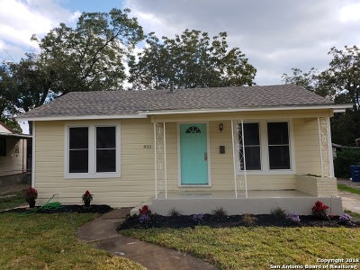 San Antonio Single Family Home For Sale: 922 W Wildwood Dr