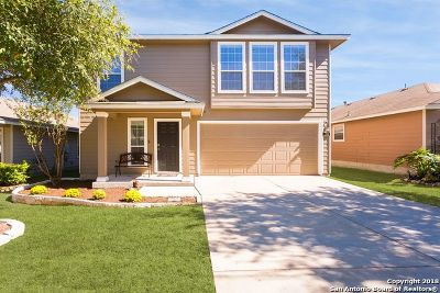 Bexar County Single Family Home Active Option: 258 Perch Manor
