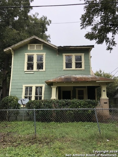 San Antonio Multi Family Home Price Change: 109 Blue Bonnet St