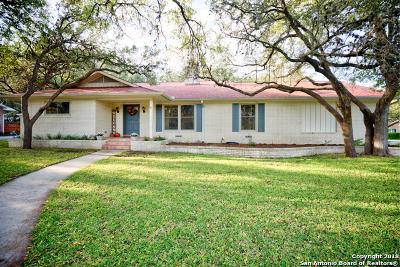 New Braunfels Single Family Home Active Option: 2 La Mesa Dr