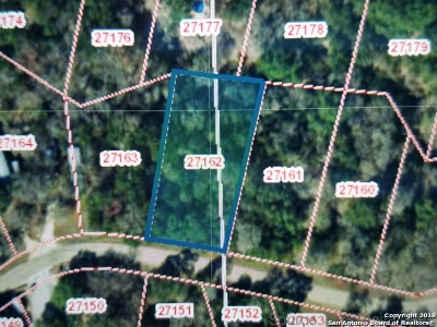 Boerne Residential Lots & Land Active Option: Lt 209 White Water Rd