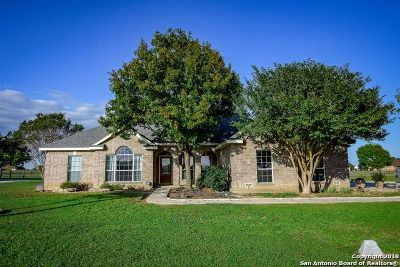 Castroville Single Family Home New: 1255 County Road 4516