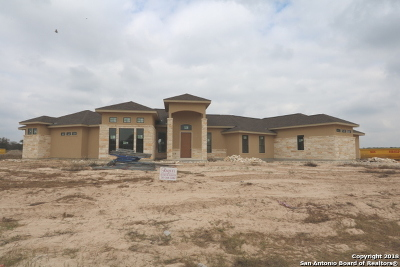La Vernia, Marion, Adkins, Floresville, Stockdale Single Family Home New: 335 Abrego Lake Dr