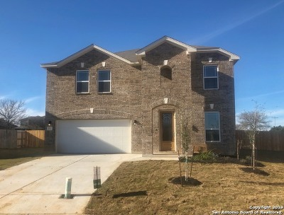 Converse Single Family Home New: 2727 Seal Pointe