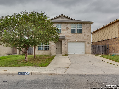 Converse Single Family Home New: 8126 Heights Valley