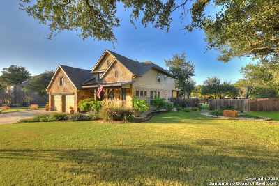 Boerne Single Family Home Active Option: 9203 Limestone Pass