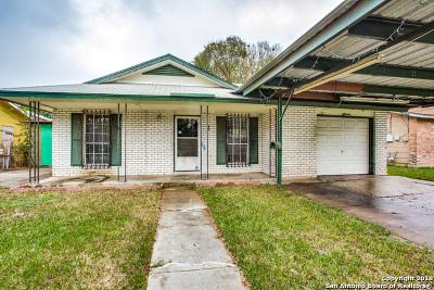 San Antonio Single Family Home New: 1518 Beverly Ann St
