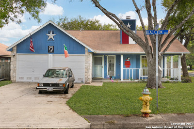 Single Family Home For Sale: 11430 Black Fox Dr