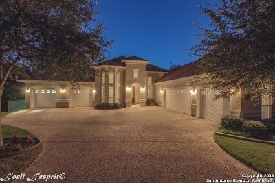 San Antonio Single Family Home New: 9706 Aviara Golf