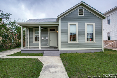 San Antonio Single Family Home New: 226 Camargo St