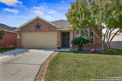 Helotes Single Family Home New: 10515 Weser Ln