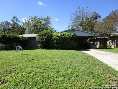 San Antonio Single Family Home New: 1105 Upland