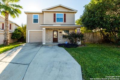 Bexar County Single Family Home Active Option: 12406 Basil Bay