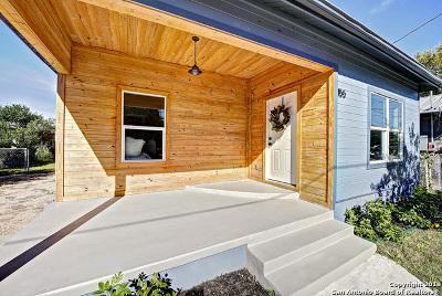 San Antonio Single Family Home Price Change: 155 E Lambert St