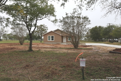 Adkins Single Family Home New: 5087 Fm 3465
