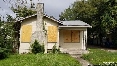 San Antonio Single Family Home New: 1807 Center
