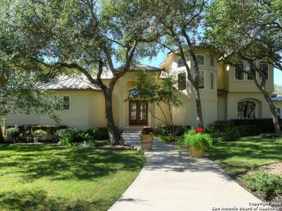 Boerne Single Family Home New: 102 Cibolo Pass
