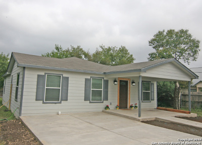 Castroville Single Family Home New: 1511 Jackson St