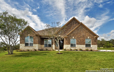 Castroville Single Family Home New: 143 Cattle Drive