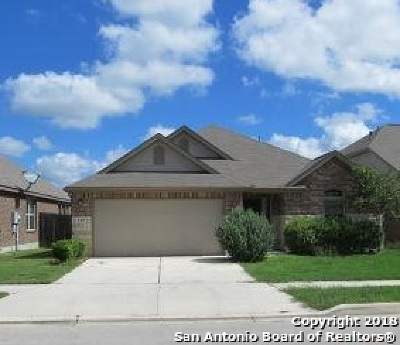 Cibolo Single Family Home New: 140 Buckskin Way