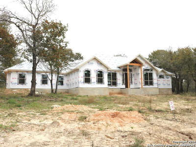La Vernia, Marion, Adkins, Floresville, Stockdale Single Family Home New: 125 Hidden Pond Dr