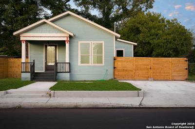 San Antonio Single Family Home New: 415 Furnish Ave