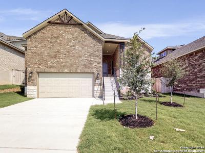 San Antonio Single Family Home New: 12034 Tower Creek