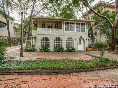 Alamo Heights Single Family Home For Sale: 727 Patterson Ave