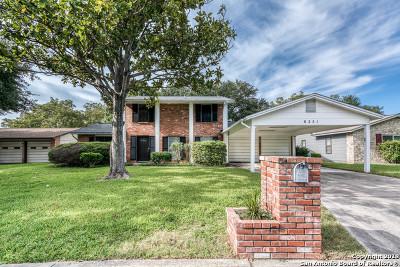 San Antonio Single Family Home For Sale: 8251 Campobello Dr