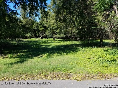 New Braunfels Residential Lots & Land Active Option: 427 E Coll St