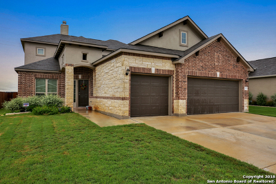 New Braunfels Single Family Home For Sale: 3537 Hurricane Trail
