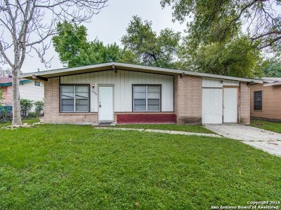 San Antonio Single Family Home New: 7406 Cartwheel Ln