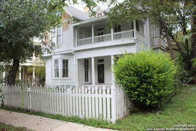 San Antonio Single Family Home New: 105 Callaghan Ave