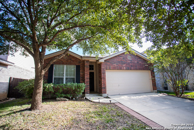 Helotes Single Family Home Active Option: 8710 Sonora Pass