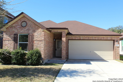 San Antonio Single Family Home New: 1219 Longhorn Xing