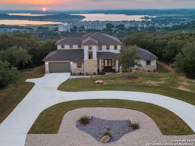 Canyon Lake Single Family Home Price Change: 2307 Sunset Ridge