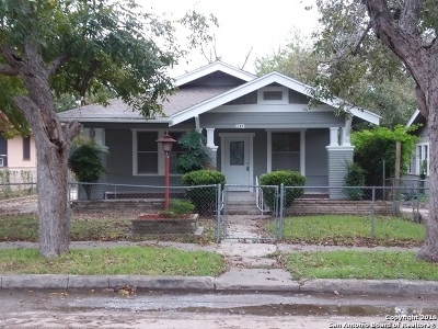 San Antonio Single Family Home New: 332 Avondale Ave